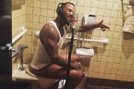 Game Is Recording Songs For New LP 'The  Documentary 2′ On The Toilet