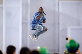Watch Kanye West End His Pan Am Games Set In Very Kanye Fashion