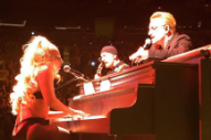 Watch Lady Gaga Join U2 On Stage At NYC's Madison Square Garden