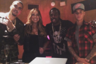 "Mariah Carey's ""Infinity"" Remix Features French Montana, Justin Bieber And T.I.: Listen"