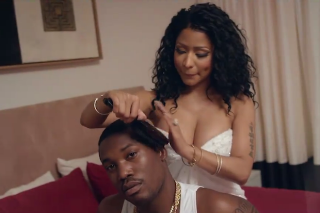 "Meek Mill & Nicki Minaj Are Lovey-Dovey In ""All Eyes On You"" Video: Watch"