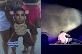 One Direction Destroyed A Naughty Boy Piñata At A Kansas Concert