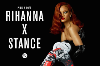 Rihanna Teams Up With Stance For A Limited Edition Sock Line: Morning Mix