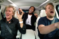 Rod Stewart & A$AP Rocky Ride With James Corden For Carpool Karaoke: Watch
