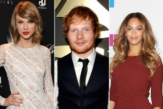 Taylor Swift, Ed Sheeran & Beyonce Lead 2015 MTV VMA Nominations