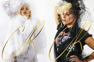 Lady Gaga Covers 'CR Fashion Book', Says She's More Iron Maiden Than Madonna