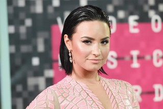 MTV Video Music Awards 2015: Demi Lovato Is Pretty In Pink On The Red Carpet