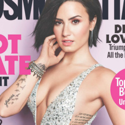 Demi Lovato Takes Boobs Out In 'Cosmopolitan'