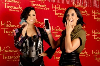 Demi Lovato Got Her Own Madame Tussauds Wax Figure For Her 23rd Birthday: 5 Photos