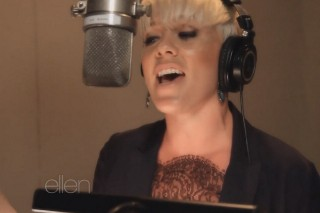 "Pink Recorded The New 'Ellen DeGeneres Show' Theme Song: Listen To ""Today's The Day"""
