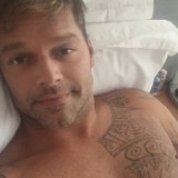Ricky Martin Is Shirtless On Instagram