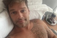 Ricky Martin Posted A Sexy As F**k Shirtless Photo On Instagram. Happy Friday!