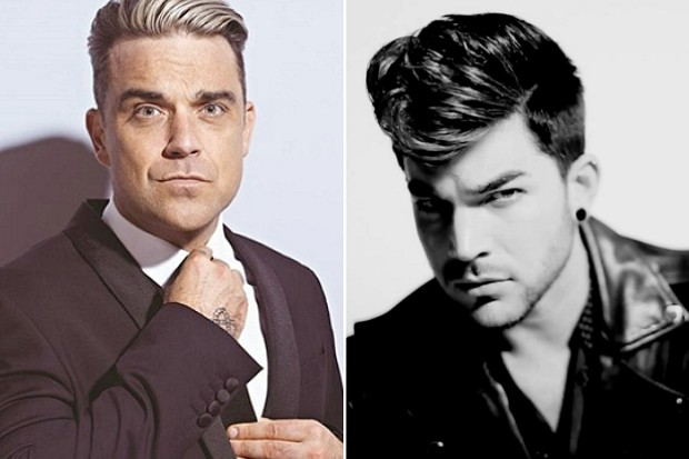 Robbie Williams Adam Lambert duet