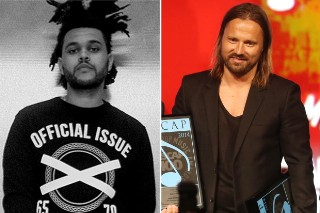 """The Weeknd's """"Can't Feel My Face"""" Tops Singles Chart, Becomes Producer Max Martin's 21st #1"""