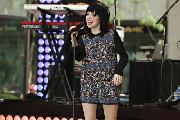 Carly Rae Jepsen Performs On NBC's Today