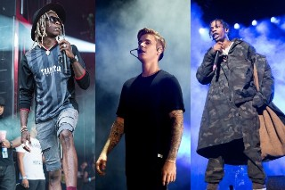 """Justin Bieber And Young Thug Featured In Travis $cott's """"Maria I'm Drunk"""": Listen"""