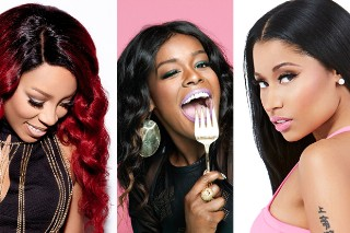 Azealia Banks Had A Busy Weekend! The Rapper Threw Shade At Both Nicki Minaj And K. Michelle