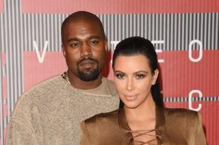 MTV Video Music Awards 2015: Kanye West & Kim Kardashian Keep It Neutral