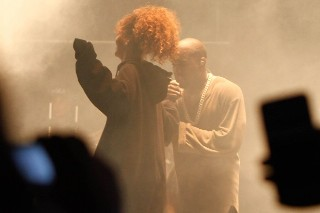 Rihanna Joins Kanye West To Perform at FYF Fest: Watch