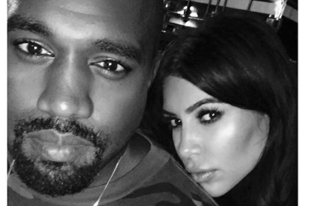 kim-kardashian-kanye-west-instagram-selfie-2015