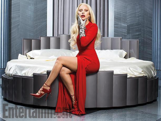 Lady Gaga Glams u0026 Gores It Up In u0026#39;AHS Hotelu0026#39; Spread See 7 Photos | Idolator