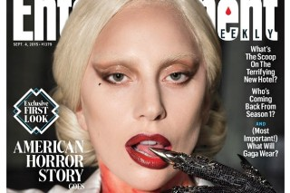 Lady Gaga Is Covered In Blood For 'EW' Cover, Talks 'AHS: Hotel'