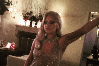 Lady Gaga Throws Pool Party For 'American Horror Story: Hotel' Cast: 7 Photos