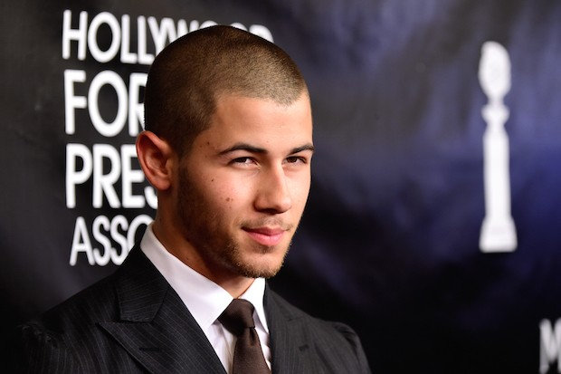 Nick Jonas At The 2015 HFPA Annual Banquet