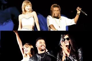 "Taylor Swift Brings Out Fetty Wap To Sing ""Trap Queen"" In Seattle: Watch"
