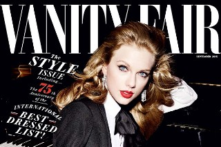 Taylor Swift Stuns In Classic Hollywood-Inspired 'Vanity Fair' Shoot: 9 Pics