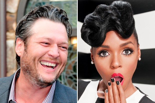 Blake Shelton doesn't know who Janelle Monae is The Voice Tightrope