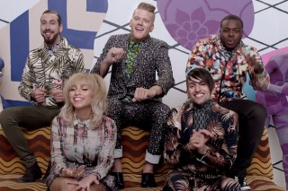 "Pentatonix's ""Can't Sleep Love"" Video: Watch The Colorful Quintet Dodge Zzzzzs"