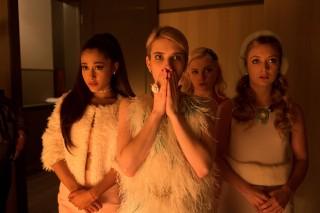'Scream Queens' Premiere: Ariana Grande And Nick Jonas Get Slain…Maybe