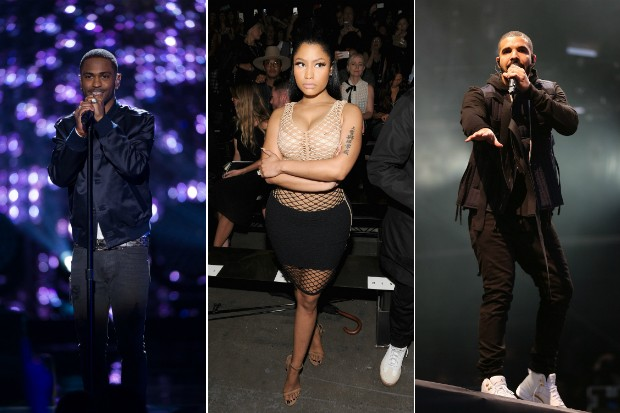 big sean nicki minaj drake