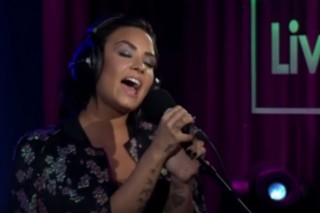 """Watch Demi Lovato Cover Hozier's """"Take Me To Church"""" For BBC Radio 1"""