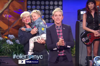 "Pink Performs ""Today's The Day"" Theme Song On 'Ellen Degeneres Show': Watch"