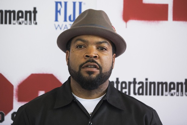 Cast member Ice Cube arrives for the premiere of