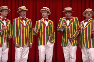"Joseph Gordon-Levitt & Jimmy Fallon Cover Rihanna's ""BBHMM"" On 'Tonight Show': Watch"