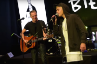 "Justin Bieber Performs An Acoustic Version Of ""Baby"" With Bryan Adams: Watch"