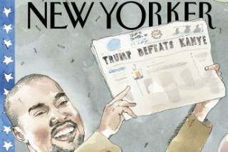 Kanye West Is The First Rapper To Appear On The Cover Of 'The New Yorker'