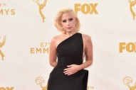 Lady Gaga Is Simply Classic On The 2015 Primetime Emmys Red Carpet: 10 Photos