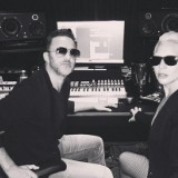 Lady Gaga Hit The Studio With RedOne
