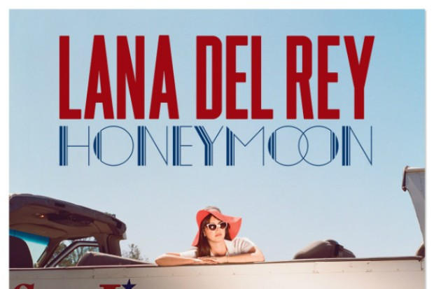 lana del rey honeymoon album art cover