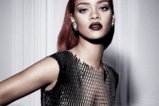 Rihanna Bares Her Boobs In A Mesh Dress For Dior: See 9 Pics