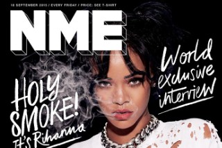 Rihanna Covers First Free Issue Of 'NME,' Talks R8 Album Delays