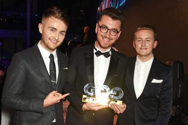 sam smith gq men of the year awards 2015 disclosure