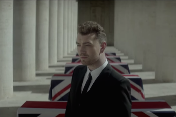 Sam smith writings on the wall james bond video teaser