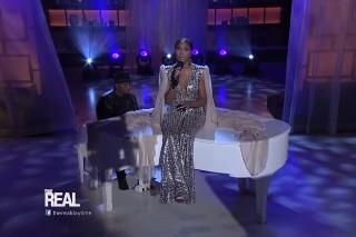 "Tamar Braxton Debuts Gorgeous Ballad ""King"" On 'The Real': Watch"