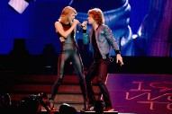 Taylor Swift Joined By Mick Jagger & Leona Lewis In Nashville: Watch