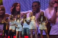 """Watch Taylor Swift, Nelly & Haim Perform """"Hot In Herre"""""""